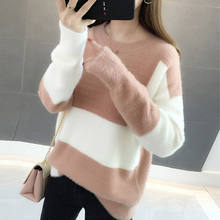 Casual 2019 autumn winter Women Knitted turtle-necK Sweater Casual Soft and warm Jumper Fashion Slim Femme Elasticity Pullover(China)
