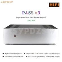 Passe a3 single ended classe um amplificador de potência apoio xlr/rca entrada de sinal 30 w * 2
