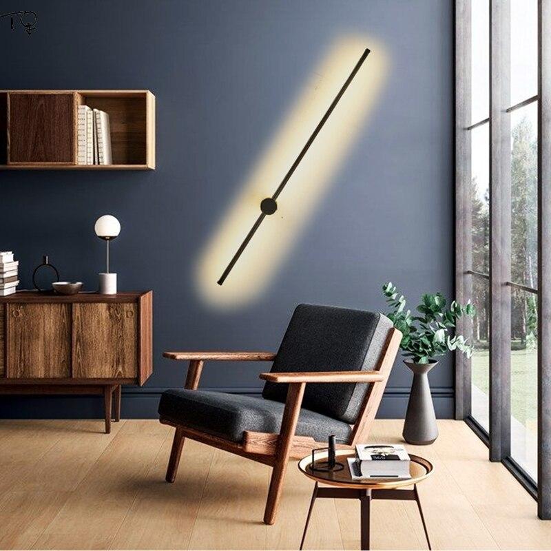 nordic minimalista moderna lampada parede sala 02