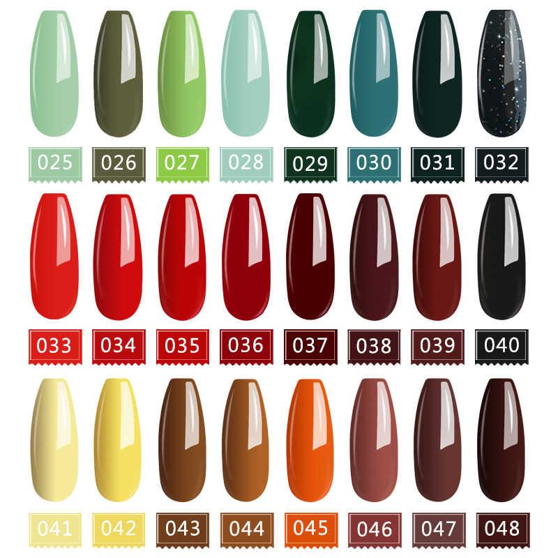 Mizhse 15 ml 72 cores gel vernizes híbridos uv led tudo para manicure embeber fora de longa duração brilho gel unha polonês