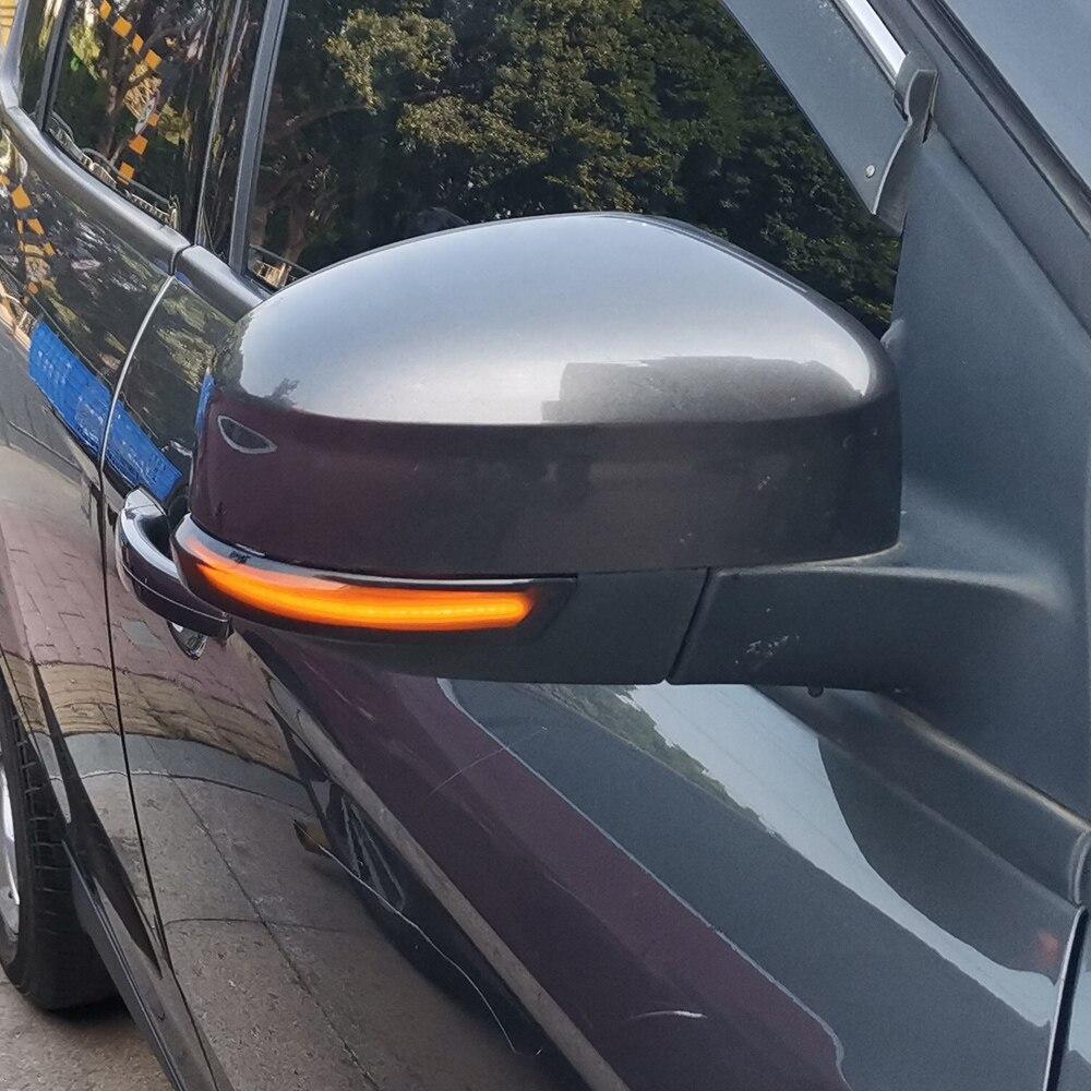 Image 5 - 2pcs Dynamic Turn Signal Light LED Side Wing Rearview Mirror Indicator Blinker Light For Ford Focus 2 3 Mk2 Mk3 Mondeo Mk4Signal Lamp   -