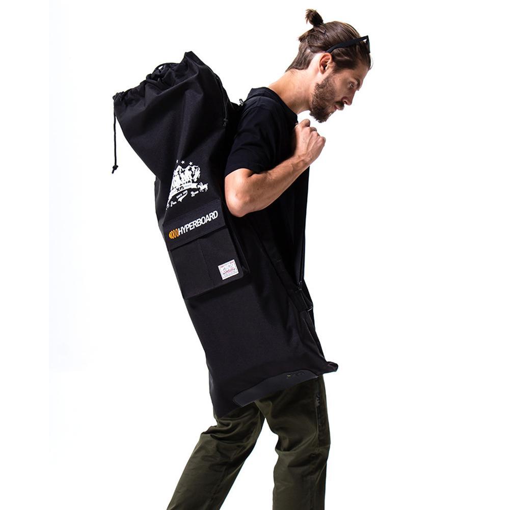 Professional Electric Skateboard Bag 105x40cm Shouler Double Rocker Skateboard Backpack Multi-functional Drawstring Scooter Bag
