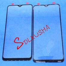 10 adet ön dış cam ekran lensi için yedek dokunmatik ekran Samsung Galaxy A20S A207 A207F A207DS A207FN A207G A207GN
