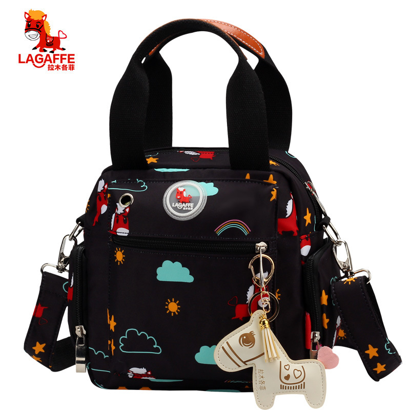 Multifunction Diaper Bag Backpack Mother Care Hobos Bags Baby Stroller Nappy Bag For Mom Horse Ornaments Maternity Backpacks