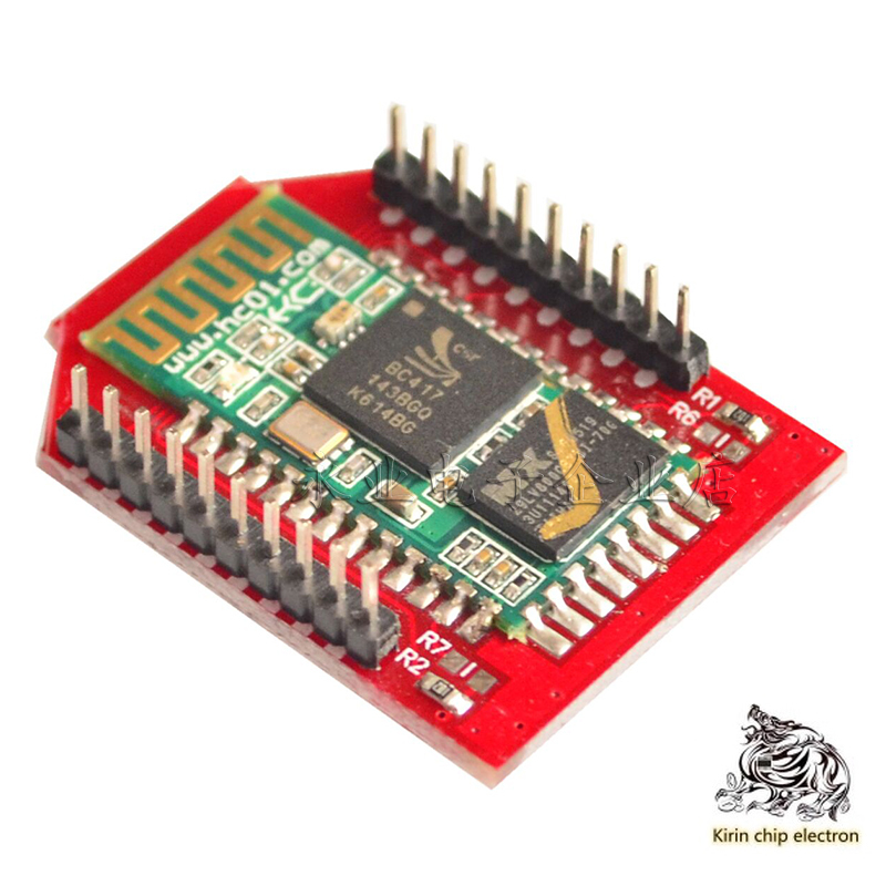 2pcs / Lot Bluetooth Bee Bluetooth Wireless Module Bee Hc-05 Master Slave Integrated Bluetooth Module