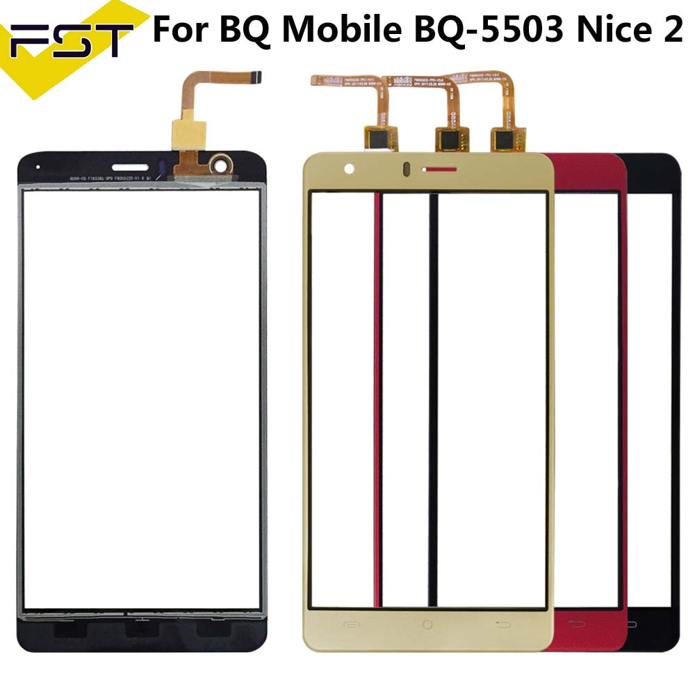 For BQ Mobile BQ-5503 BQ 5503 Nice 2 Touch Screen Lens Sensor 5.5Inch Touch Panel Replacement +Tools Bqs 5503 Nice2