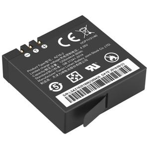 Image 3 - 2 Chiếc Ban Đầu AZ16 1 Pin Cho Xiaomi YI Lite 4K 4K + + Màn Hình LCD USB Sạc Đôi Cho xiaoyi Camera Hành Động Thứ Hai 1200MAh 3.85V