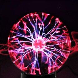 3/4/5/6/8inch Glas Plasma Bal Magische maan Lamp Elektrostatische Bol Plasma Licht lamp Touch Nieuwigheid Tafellamp woondecoratie