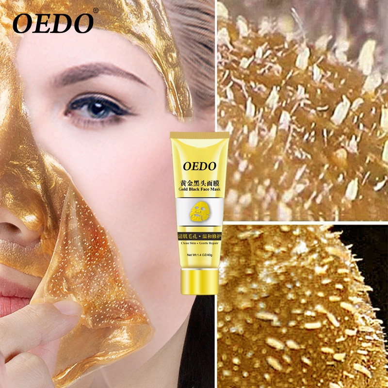 Remove-Wrinkle Blackhead-Acne OEDO Facial-Face Collagen Yellow High-Moisture Care Gold title=
