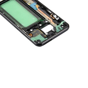 Image 2 - For Samsung Galaxy S8 G950 G950F G950FD G950T G950V Original Phone Housing Chassis LCD Plate New Middle Frame With Adhesive