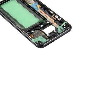 Image 2 - 삼성 갤럭시 s8 g950 g950f g950fd g950t g950v 기존 전화 하우징 섀시 lcd 플레이트 새로운 중간 프레임 접착제