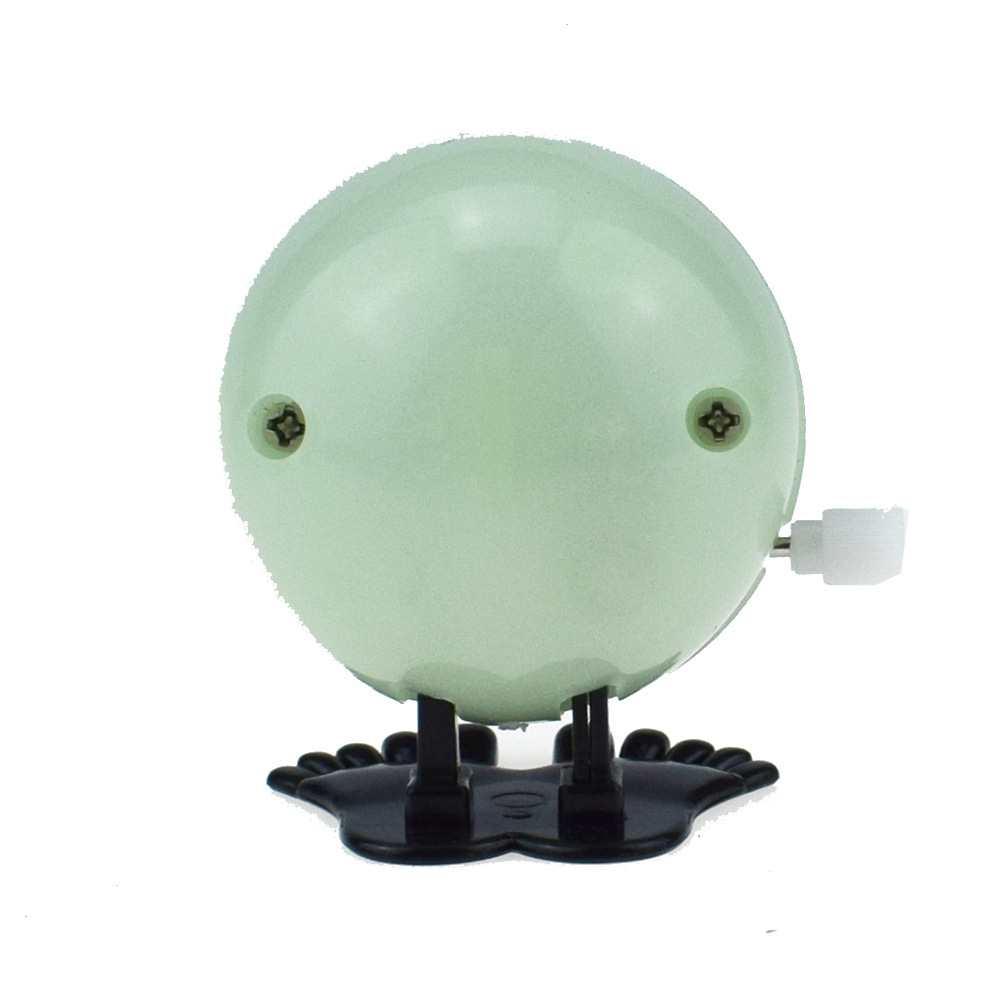 Novelty Funny Winding Spring-Winding Jumping Night Light Effect Giant Eyeball Halloween Christmas Small Gifts Toy