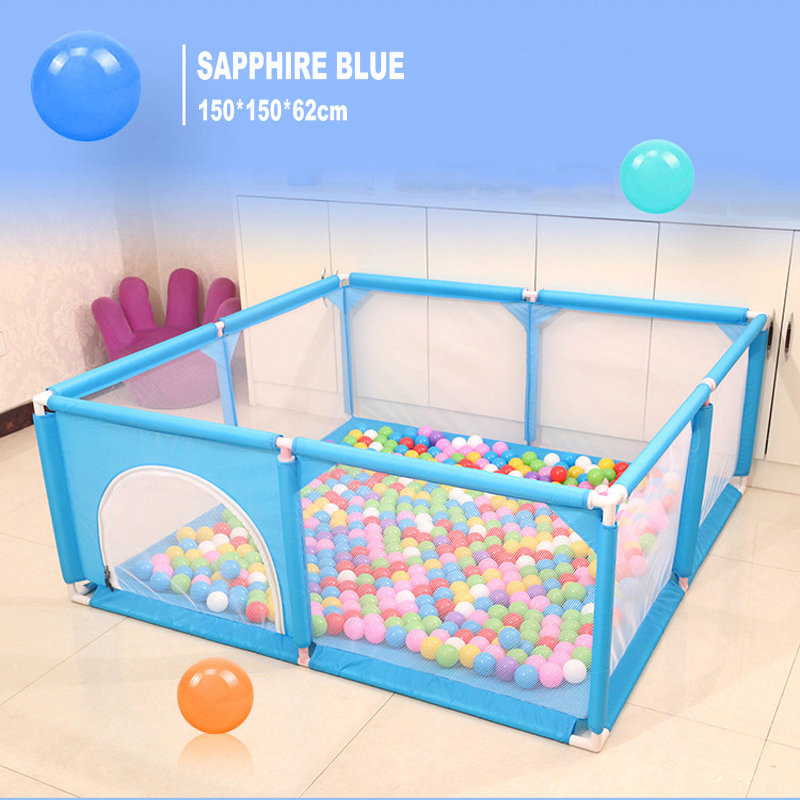 Baby Playpen Fence Safety Barrier For 0-6 Years Kids Children Playpen Newborns Game Playpen Tent For Infants