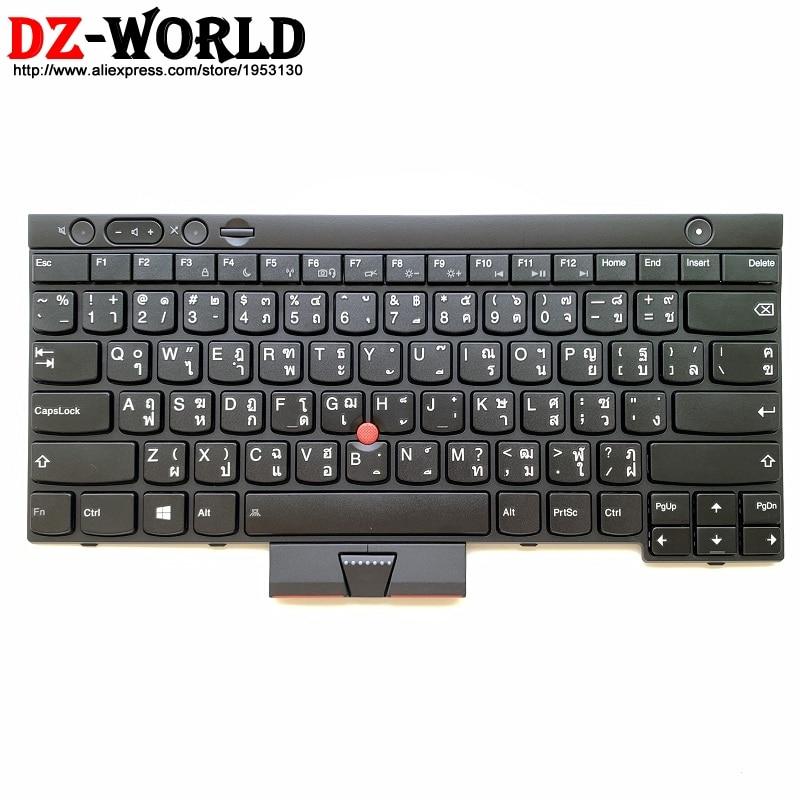 New/orig TH Thai Keyboard For Lenovo Thinkpad L430 L530 T430 T430i T430S T530 T530i W530 X230 X230i X230T Teclado 04X1235