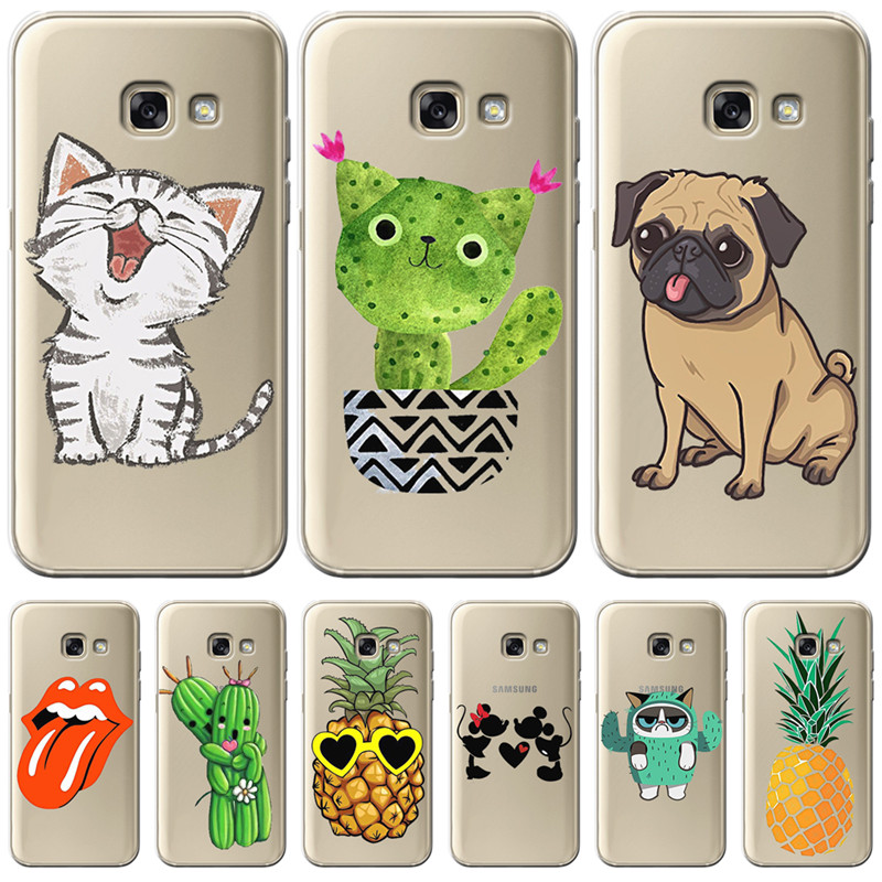 cartoon cat <font><b>dog</b></font> For <font><b>Samsung</b></font> <font><b>Galaxy</b></font> A9 A8 A7 A6 A5 <font><b>A3</b></font> A10 A30 A20 A50 A70 A60 A40 A20E 2016 <font><b>2017</b></font> 2018 <font><b>PHONE</b></font> Cover <font><b>Case</b></font> Funda ETUI image