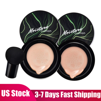 Mushroom Head Air Cushion CC Cream Moisturizing Concealer Foundation Air-permeable Natural Brightening Makeup BB Cream Cosmetics 1