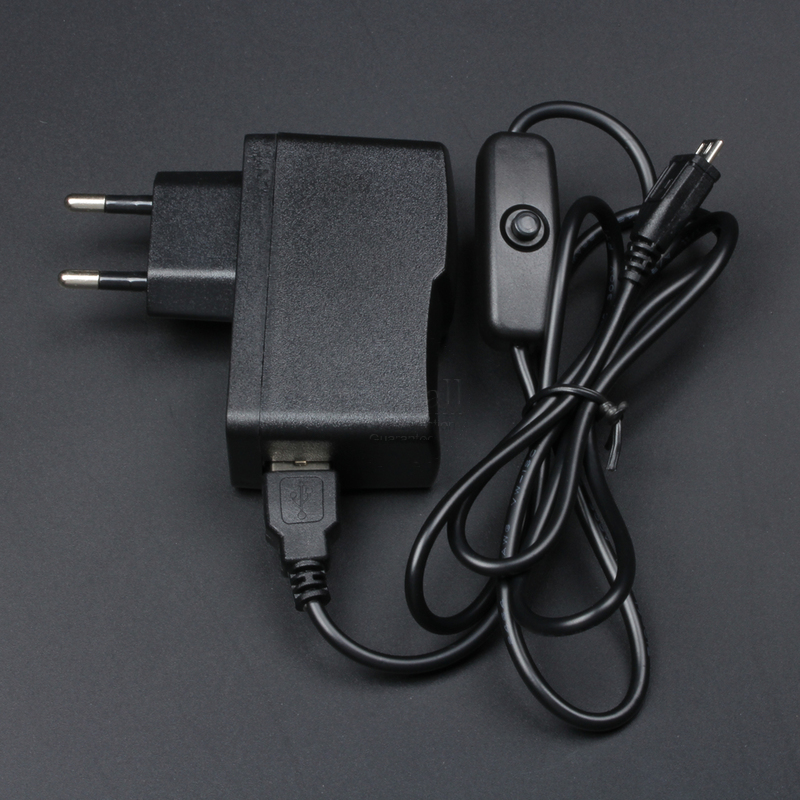 Raspberry Pi 3 Adapter AC Power Supply Kit 5V 2.5A Micro USB Cable USB Charger For Raspberry Pi 3 Model B B+ Plus ON Off Switch