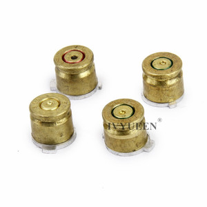 Image 4 - IVYUEEN Brass Bullet Buttons Mod Kit For Sony Dualshock 4 PS4 DS4 Pro Slim Controller Analog Thumb Sticks Cap with Action Button