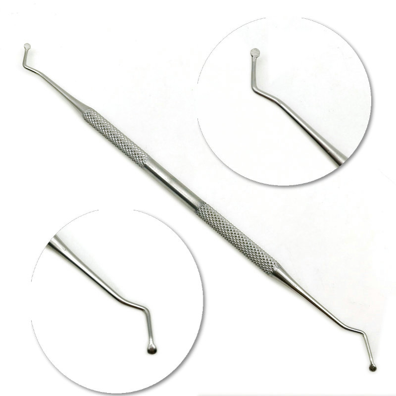 1pc Dental Excavator Restorative Spoon Double Ended  Instruments Dental Instrument