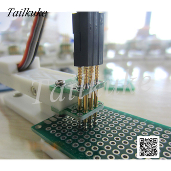 Burning Fixture Debug Download Pogo Pin 2.54mm-3P Double Row STM32 STC Pitch 2.54 - discount item  7% OFF Home Appliance Parts