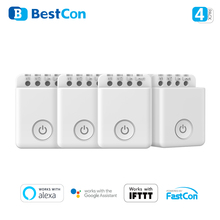 Broadlink MCB1 Wireless Wifi Remote Control Smart Switch Timing Light Smart Home Automation Work with Alexa Google Home APP