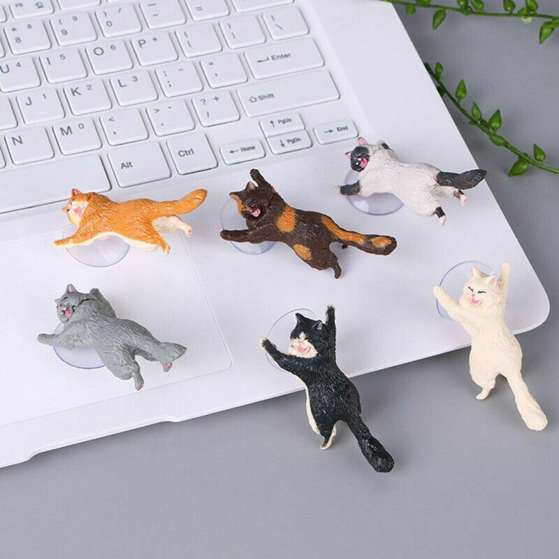 Cute Cat Phone Holder Tablets Desk Car Stand Universal Lazy Mobile Phone Holder For Iphone Huawei Samsung Xiaomi Redmi