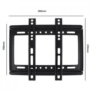 Image 2 - Universal 25KG TV Wall Mount Bracket Flat Panel TV Frame Mounts with Gradienter for 14   42 Inch LCD LED Monitor Flat Panel