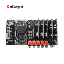 ADSP21489 development board DSP divider ADC PCM1804 Input +DAC PCM1798 output 4 in 6/8 out processor  B4 007