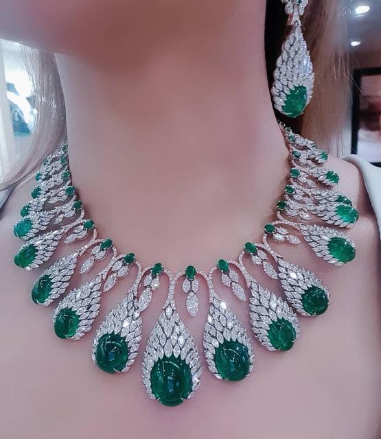 Bridal Zirconia Necklace Set 1