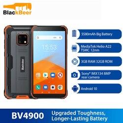 Blackview BV4900 Android 10,0 мобильный телефон 5,7 дюймIP68 прочный водонепроницаемый смартфон Helio A22 Четырехъядерный 4G телефон NFC 5580mAh