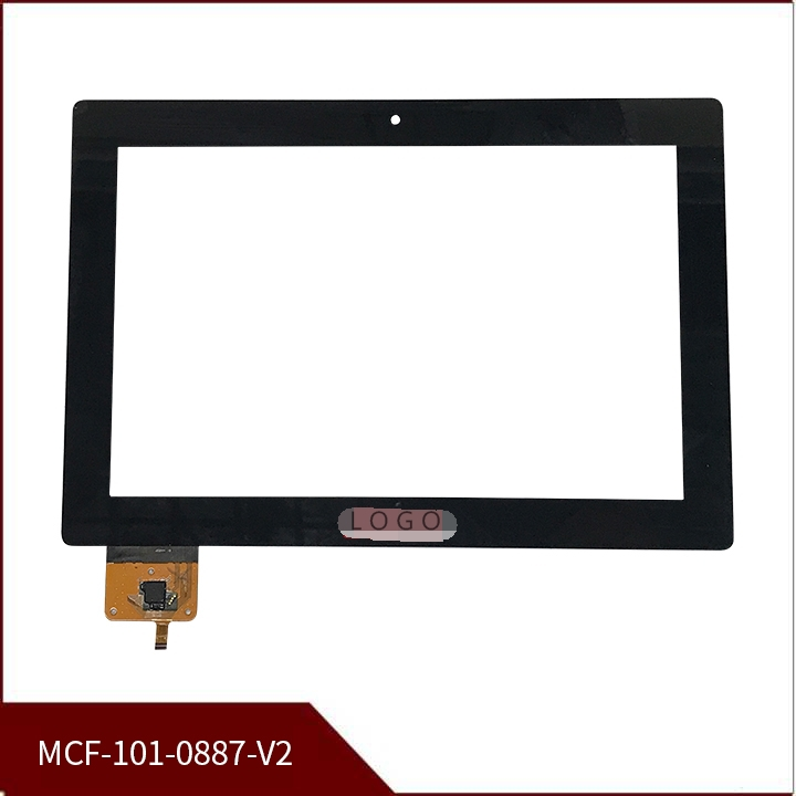 New 10.1 Inch For Tablet Capacitive Touch Screen Lenovo S6000 MCF-101-0887-V2 Digitizer Glass Sensor Free Shipping