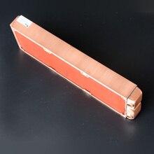 Ke Ruiwo 360 мм полностью красный медный радиатор 45 мм Толщина водяного охлаждения Радиатор подходит для 120 мм вентиляторов