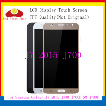 купить 10Pcs/lot TFT LCD For Samsung Galaxy J7 2015 J700 J700F J700H J700M LCDS Display Touch Screen Digitizer Assembly Replacement недорого