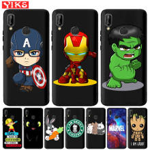Spiderman Marvel The Avengers Hulk Captain America Case For Huawei Mate10 20 30 Lite