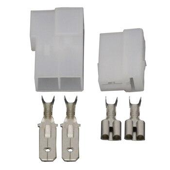 2 Pin Conector automotriz conector de arnés con Terminal DJ70215-6.3-11/21 2 P