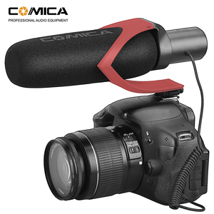 Image 5 - Comica CVM V30 PRO Camera Microphone Electric Super Cardioid Directional Condenser Video Microphone for Canon Nikon Sony DSLR