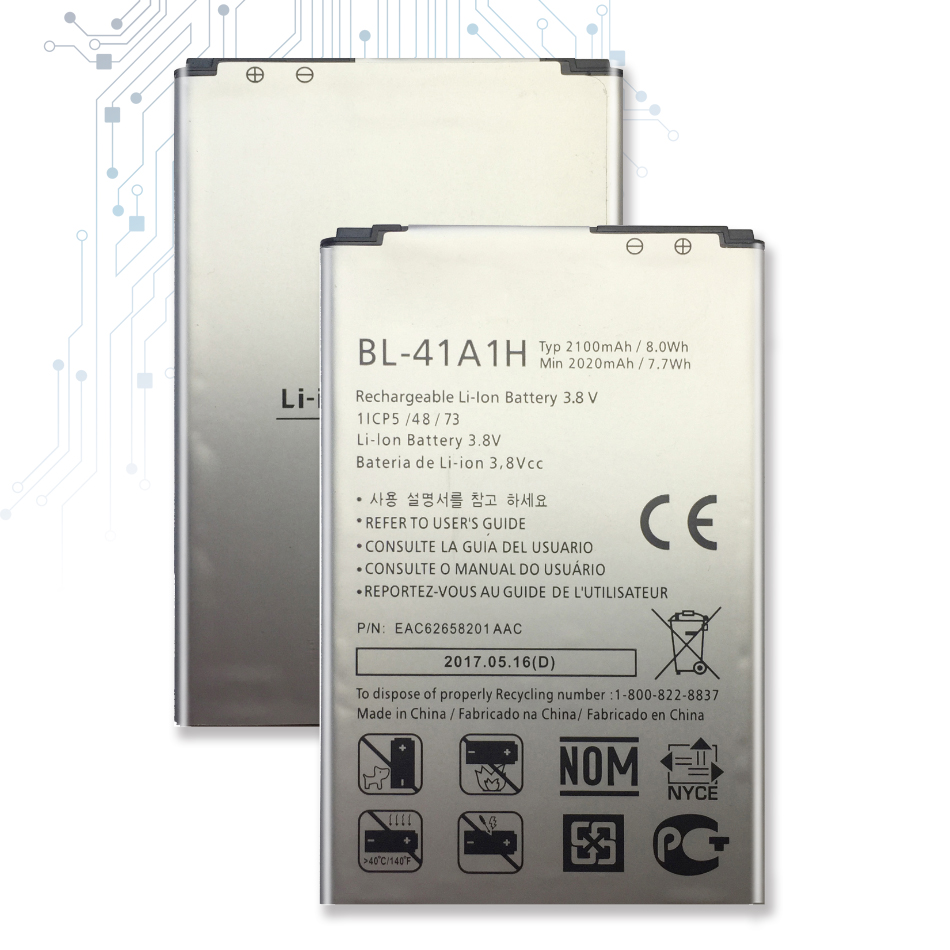 <font><b>2100mAh</b></font> BL-41A1H <font><b>Battery</b></font> For <font><b>LG</b></font> X Style Tribute HD Boost X Style LS676 L56VL K200DS Optimus F60 MS395 Transpyre LS660 Track NO image