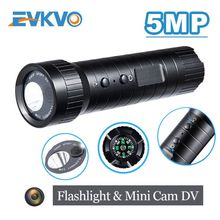цена на Mini action Camera cam 5MP mini sport camera helmet Hd wide Angle motion DV camera waterproof flashlight loop recording