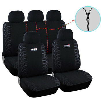 Front Rear Car Seat Cover Covers Car Auto Seats Cover Protector Universal for Most of Vehicle