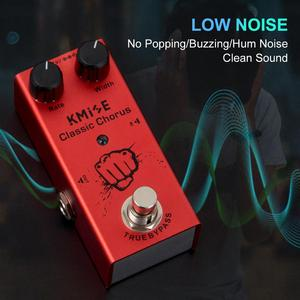 Image 4 - Kmise Electric Guitar Effects Pedal Classic Chorus Mini Single True Bypass DC 9V