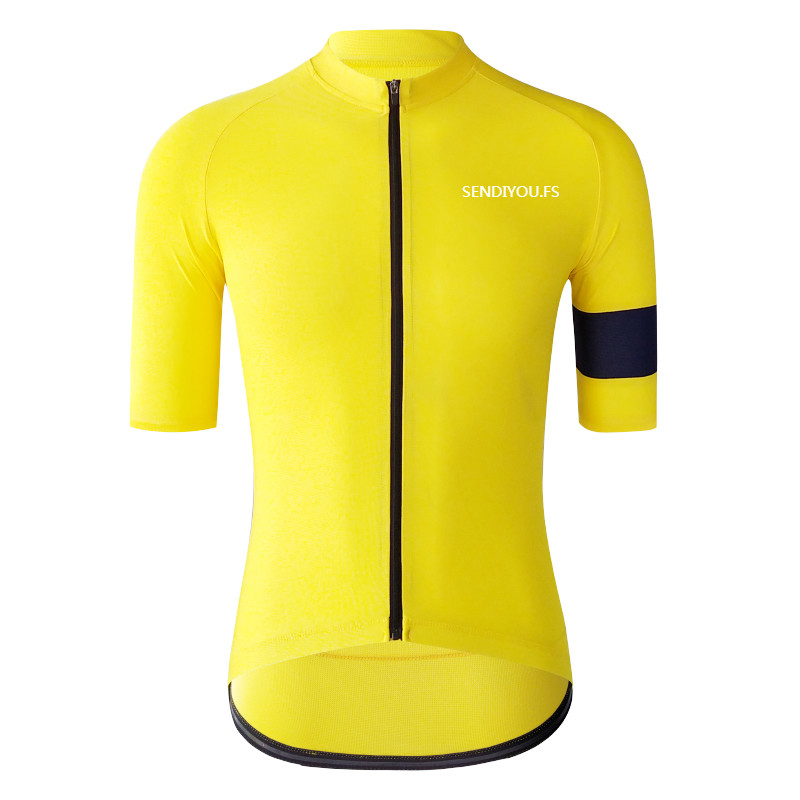 Jerseys Cycling-Clothes Mountain-Bike Retro Short-Sleeved Yellow Women's And Summer Road