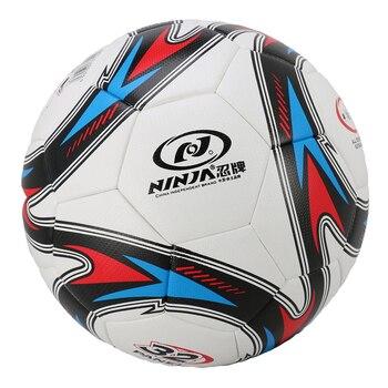 Yüksek kaliteli futbol açık resmi maç futbol topu boyutu: 8.47 inç çocuklar yetişkinler için, PU deri yapılmış, dayanıklı ve güvenilir