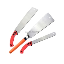 Hand-Saw Pull Wood Woodworking-Tools Cutting Pruning Garden Plastic Teeth for Bamboo