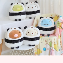 New  Japanese Animation Plush Toy Soft Cartoon Animal Doll with Blanket Sofa Pillow Girlfriend Valentine Gifts