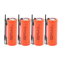 1/2/4/6/8/10 pièces 18500 2500mAh 3.7V 18500 batterie Rechargeable batterie Recarregavel Lithium Li-ion batteries pour lampe de poche LED(China)