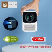 YOUPIN Wanbo T2 MAX Projecteur LCD LED Soutien 1080P Correction trapézoïdale Verticale Portable Mini Projecteur de Cinéma Maison