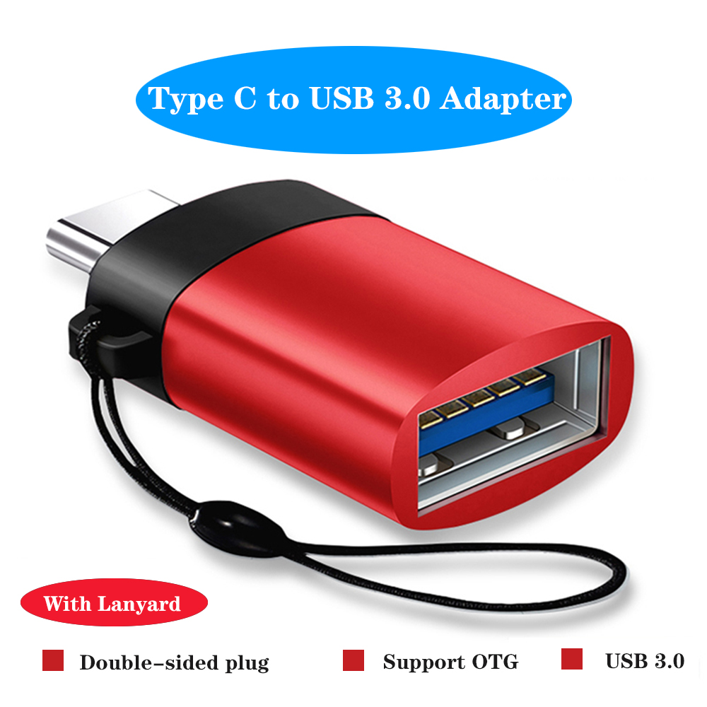OTG Type C USB C Adapter Micro Type-c USB-C USB 3.0 Charge Data Converter For Samsung S10 Note 10 Huawei Xiaomi One Plus 7 USBC