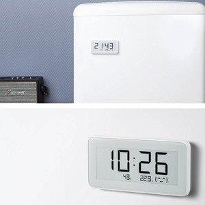 Image 5 - Xiaomi reloj eléctrico inteligente inalámbrico Mijia BT4.0, Digital, termómetro de interior e higrómetro de exterior, herramientas de medición de temperatura LCD