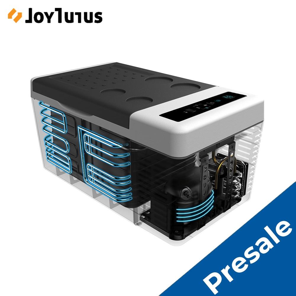 18L Car Fridge Camping Freezer Refrigerator Compressor Cooler Warmer for Home Travel Camping 2 Charging Methods 12V/24V for SUV