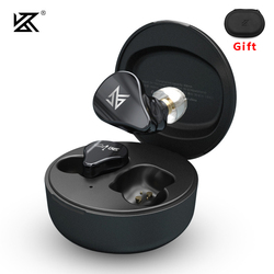 KZ SA08 TWS True Wireless Bluetooth v5.0 Earphones 8BA Units Game Earbuds Touch Control Noise Cancelling Sport Headset